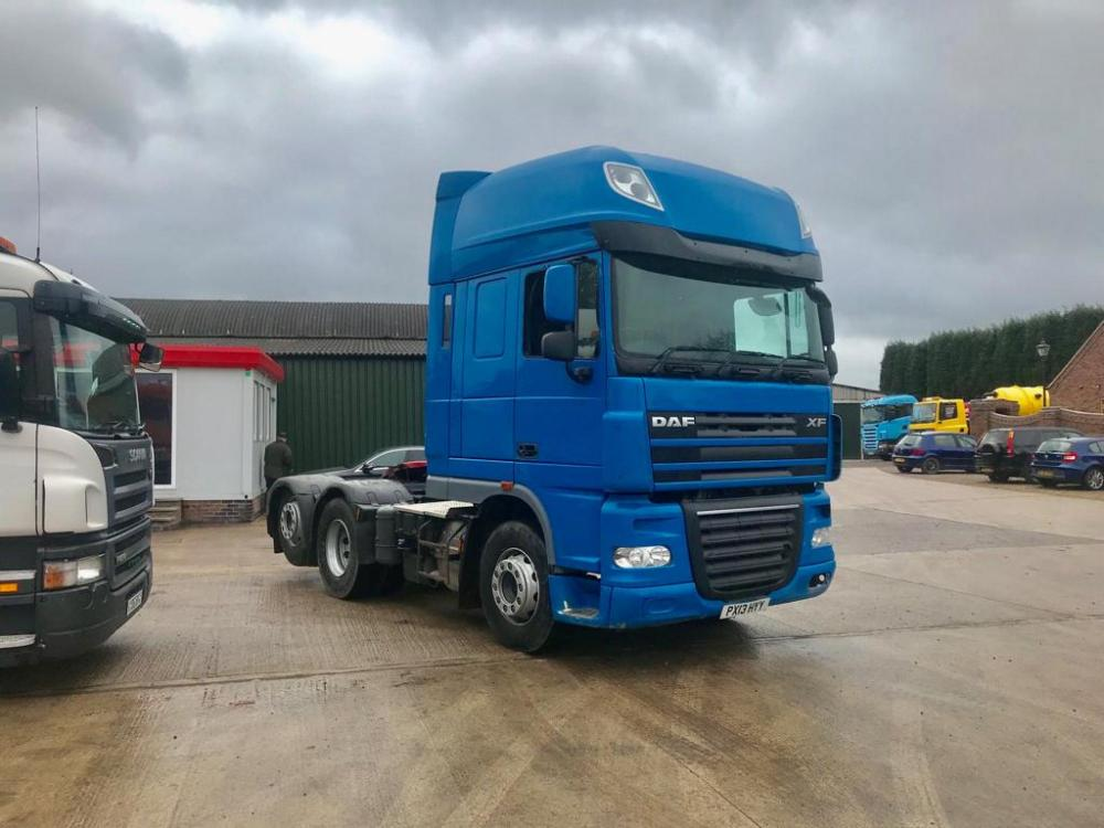 Daf XF105 460 Superspace Cab 12-Speed Manual Gearbox 2013 13