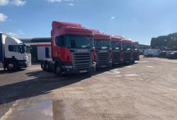 Scania R420 / R440<br>6x2 Midlift Axle 1X 2012 4X  2013 13 Reg