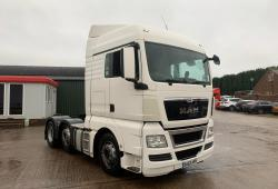 Man<br>TGX26.440 Sleeper Cab 6x2 Midlift Axle Air Kit 2013 63 Reg