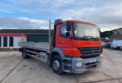 Mercedes Axor<br>1823 Manual Gearbox Spring Suspension 2005 05 Reg