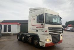 Daf<br>XF105.460 6x2 Midlift Axle Sliding 5th Wheel 2010 60 Reg