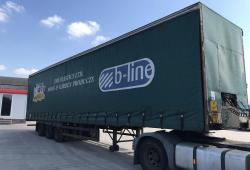 York<br>Curtainsider Low Ride Tri Axle Trailer Tidy Condition Year : 1990