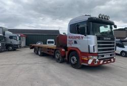 Scania 124 420<br>8x2 Plant Body 12-Speed Manual Gearbox 2002 52 Reg