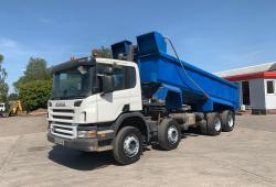 Scania P380 8x4<br>Thompson Steel Tipper Body Manual Gearbox 2006 06 Reg