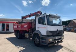 Mercedes<br>Atego 2528 Tipper Grab Manual Gearbox 2004 04 Reg