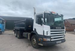 Scania 94 260<br>6x4 Steel Bodied Tipper 8-Speed Manual Gearbox 2003 53 Reg