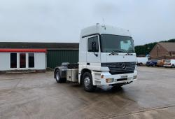 Mercedes<br>Actros 1840 Long Distance Sleeper Cab with Clutch 1999 V Reg