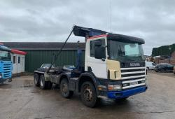 Scania 114.340<br>8x4 Hook Loader 8-Speed Manual Gearbox 2003 03 Reg