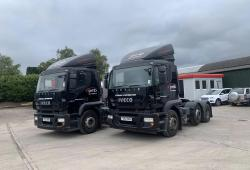 Iveco<br>Stralis 450 6x2 Midlift Axle Sliding 5th Wheel 2012 62 Reg