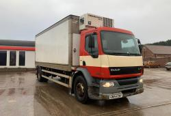 Daf LF55.220<br>Fridge Lorry Thermo King Unit Manual Gearbox 2004 54 Reg