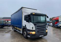 Scania P270<br>8-Speed Manual Gearbox 6x2 Rear Lift Axle 2008 58 Reg