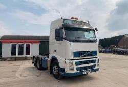 Volvo<br>FH480 Globetrotter 6x2 Rear Lift Axle 2008 08 Reg