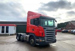 Scania R420<br>12-Speed 3 Pedal Opticruise Gearbox Choice of 5 2008 58 Reg