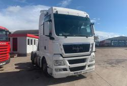 Man<br>TGX 26.480 6x2 Midlift Axle Sliding 5th Wheel 2008 58 Reg
