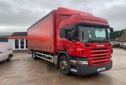 Scania<br>P230 Sleeper Cab 8-Speed Manual Gearbox 2009 59 Reg