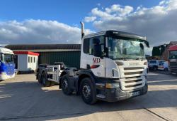 Scania P340<br>8x2 Cab and Chassis Manual Gearbox 2006 06 Reg