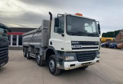 Daf CF85.340<br>8x4 Steel Bodied Tipper 8-Speed Manual Gearbox 2004 54 Reg