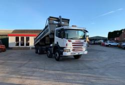 Scania P380 8x4<br>Steel Bodied Tipper 8-Speed Manual Gearbox 2006 55 Reg
