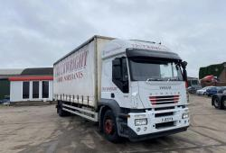 Iveco<br>Stralis 310 4x2 18 Tonne Curtainsider Body 2007 57 Reg