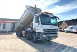 Mercedes Actros<br>3236 8x4 Steel Body Tipper Hub Reduction Axles 2011 11 Reg