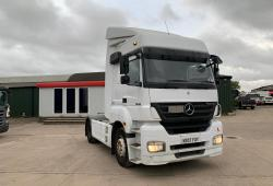 Mercedes<br>Axor 1840 4x2 Tractor Unit with Clutch Pedal 2007 07 Reg