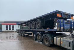 Montracon PSK<br>Flatbed 20/40ft Container Carrier Trailer Choice of 3 Year : 2006