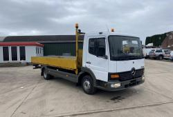 Mercedes Atego<br>815 Flatbed Dropside Body Manual Gearbox 2000 X Reg