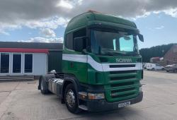 Scania R420 4x2<br>Sleeper Cab 3-Pedal 12 Speed opticruise Gearbox 2005 55 Reg