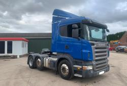 Scania<br>R420 12-Speed Manual Gearbox 6x2 Midlift Axle 2006 56 Reg