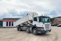Scania<br>P380 8x4 Tipper Body 8-Speed Manual Gearbox 2009 09 Reg