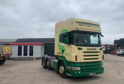 Scania<br>R480 6x2 Midlift Axle 12-Speed Manual Gearbox 2007 57 Reg