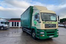 MAN<br>TGA 18.363 Sleeper Cab 6 Cylinder Engine 2004 53 Reg