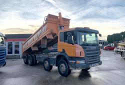 Scania<br>P400 8x4 Steel Bodied Tipper Manual Gearbox 2011 11 Reg