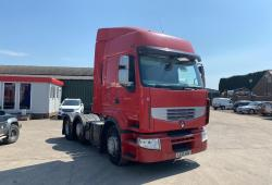 Renault Premium<br>460 Dxi Sliding 5th Wheel 6x2 Midlift Axle 2013 13 Reg