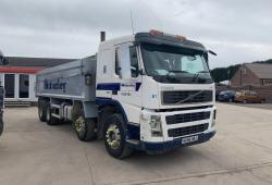 Volvo<br>FM400 Sleeper Cab 8x4 Tipper Manual Gearbox 2006 56 Reg