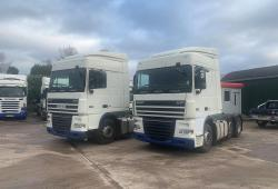 Daf XF105.460<br>16-Speed ZF Manual Gearbox 6x2 Midlift Axle 2007 07 Reg
