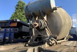 McPhee<br>Concrete Mixer Barrel Complete with Hydraulic Pump
