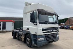 Daf<br>CF85 6x2 Mid Lift Axle Sleeper Cab Sliding 5th wheel 2008 57 Reg