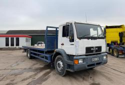 MAN<br>18.224 4x2 Manual Gearbox 24ft Flatbed Body 2000 W Reg