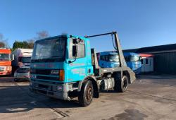 Daf<br>75 300 Ati Was a tractor Unit converted to skip 1994 M Reg