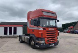 Scania R420<br>4x2 12-Speed Manual Gearbox Sliding 5th Wheel 2007 07 Reg