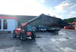 Manitou MLT625<br>Telehandler ONLY 2594 Hours Year : 2012