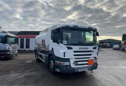 Scania P230 4x2<br>Fuel Tanker Manual Gearbox Spring Suspension 2005 55 Reg