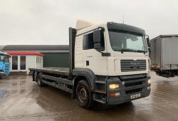 MAN TGA 26.390<br>6x2 Sleeper Cab Manual Gearbox Flatbed Body 2007 56 Reg