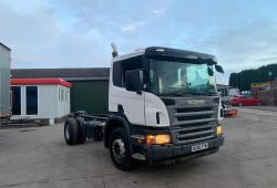 Scania P230<br>Spring Suspension 8-Speed Manual Gearbox 2005 05 Reg