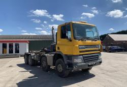 Daf<br>CF85.340 8x4 Hook Loader Manual Gearbox 2006 06 Reg