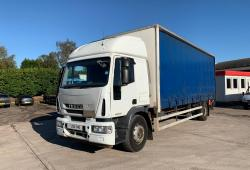 Iveco Eurocargo<br>180E25S Sleeper Cab Manual Gearbox 2008 58 Reg
