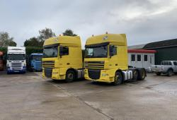 Daf XF 105.460<br>Superspace 6x2 Midlift Axle Sliding 5th Wheel Choice of 2 2011 60 Reg