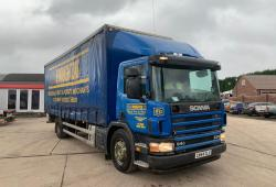 Scania 94 230<br>8-Speed Manual Gearbox Curtainsider Body 2004 54 Reg