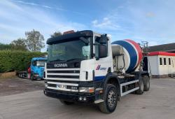 Scania 94 300 6x4<br>Concrete Mixer Double Diff Manual Gearbox 2002 02 Reg
